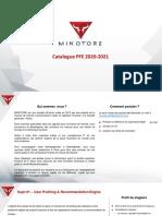 Minotore-catalogue