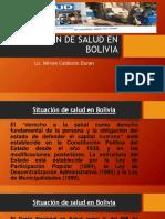 TEMA 11 SITUACION DE Salud en Bolivia