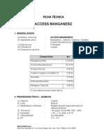 Ficha Técnica Access Manganeso