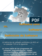 Software libre vs Propietario