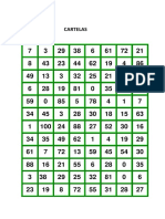 Bingo Quatro Operacoes Cartelas-mesclado