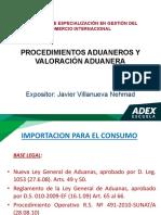 Procedimientos Aduaneros y Valoración Aduanera.pdf