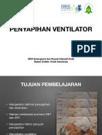 Penyapihan ventilator