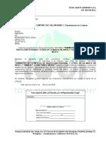 Carta Seriedad de la Oferta TSC