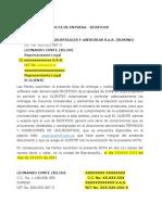 000. Modelo Acta de Entrega Rev 1