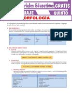 La-Morfología-y-el-Morfema-Para-Quinto-Grado-de-Secundaria