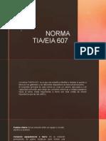 NORMA TIA 607
