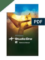 Studio One Reference Manual.en.pt