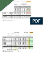 DSB2011 Floripa - Planilha de resultados Prólogo e Sprint