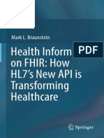 Mark L. Braunstein - Health Informatics on FHIR_ How HL7's New API is Transforming Healthcare (2018, Springer International Publishing) - libgen.lc