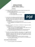 ECON1005 Tutorial Sheet 6