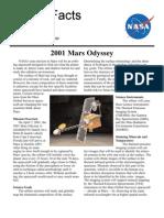 NASA Facts 2001 Mars Odyssey 2000