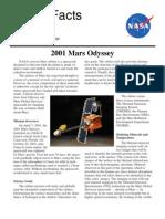 NASA Facts 2001 Mars Odyssey 2003
