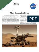 NASA Facts Mars Exploration Rover 2003
