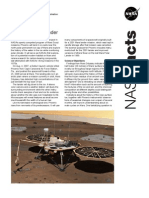 NASA Facts Mars Phoenix Lander