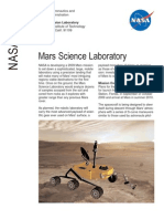 NASA Facts Mars Science Laboratory 2005
