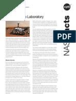 NASA Facts Mars Science Laboratory 2010