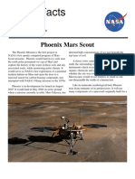 NASA Facts Phoenix Mars Scout