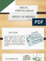 ÁREAS HOSPITALARIAS SEGÚN  SU RIESGO