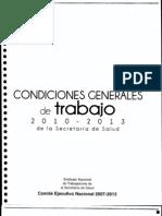 Condiciones Generales de Trabajo 2010-2013
