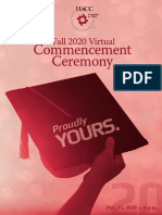 200730 0001 Fall 2020 virtual commencement program
