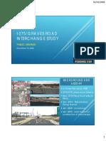 I-275 Graves Road Interchange Study Presentation