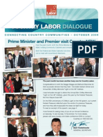 Country Labor Dialogue - October 2009