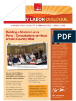 Country Labor Dialogue - April 2009