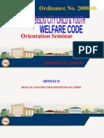 Bislig City Child & Youth Welfare Code