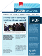 Country Labor Dialogue - July 2009