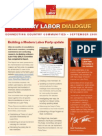 Country Labor Dialogue - September 2009