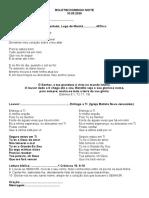 BOLETIM DOMINGO NOITE 10.05.2020