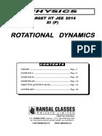 Rotational Dynamics (11th P) (Egnlish)_WA