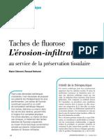 2013 taches de fluorose l'erosion-infiltration au service de la preservation tissulaire