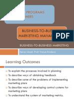Lecture 12_B2B Marketing management