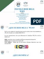 "PROTOCOLO IEEE 802.11 ""WIFI"""