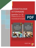 COMBINAISON S8 + S10 - Dermatologie (Partie 1+ 2)-DZVET360-Cours-veterinaires