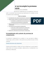 NOTAS DE CUMPLIMINETO P RESOLUSION DE CONTRATO