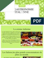La gastronomie italienne