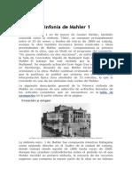 SELECCIÓN  ANALIZADAS SINF 1 MALHER