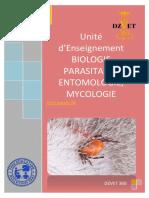 S5 - Biologie Parasitaire . entomologie, Mycologie-DZVET360-Cours-veterinaires
