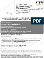 Flyer Conference ViVRe