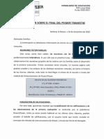 Info Fin Trimestre Salida
