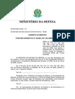PORTARIA Nº 849MD, Alteracao_rcont