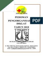 COVER pedoman pengorganisasian Diklat 2018