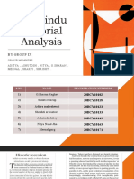English group activity of The hindu editorial Analysis