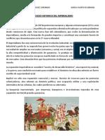 PROCESO HISTORICO  DEL IMPERIALISMO