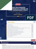 Raport OTTO Work Force - Opinie Pracowników Tymczasowych z Ukrainy Na Temat Zadowolenia z Pracy w Polsce w 2020 Roku