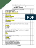 PPE UNIT 5  -SAMPLE OBJECTIVE QUESTIONS