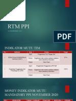 RTM PPI Puskesmas Talang Betutu